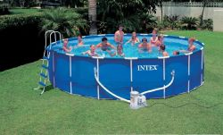 Каркасный бассейн INTEX 57954 Metal Frame Pool