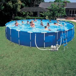 Каркасный бассейн INTEX 57966 Metal Frame Pool